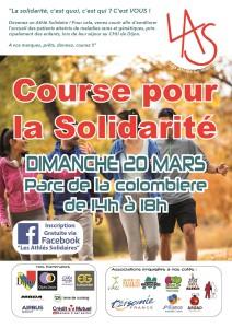 Course 20 mars affiche